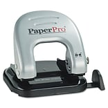 PaperPro® inDULGE™ 20 Two-Hole Punch, 20 Sheets/20 lb., Silver (ACI2240)
