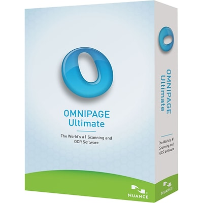 Nuance® OmniPage Ultimate Complete Product 1 User Software; Local/State Government