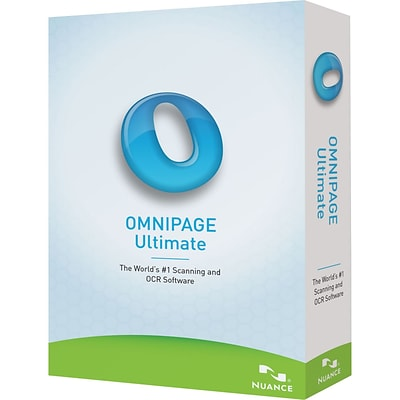 Nuance® OmniPage Ultimate Complete Product 1 User Software; Standard