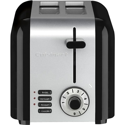 Cuisinart® 2-Slice Compact Toaster; Stainless