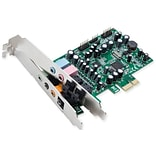 Syba™ 7.1 Surround Sound S/PDIF In/Out PCI-e Digital/Analog Sound Card W/Full & Low Profile Brackets