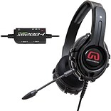 GamesterGear Cruiser XB200 Stereo Gaming Headset For Xbox; Black
