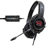 GamesterGear Cruiser P3200 PC Stereo Gaming Headset For PS4/PS3; Black