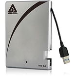 Apricorn Aegis-Portable 1TB USB 3.0 External Hard Drive With Integrated Cable