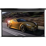 Elite Screens® Manual 95 Projection Screen; 2.35:1, Black Casing