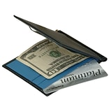 Royce Leather Mens Cash Clip Wallet, Ocean Blue
