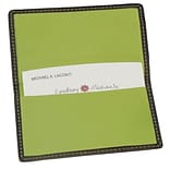 Royce Leather Business Card Case, Metro Collection Key Lime Green