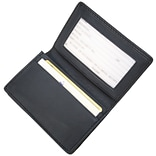 Royce Leather Deluxe Card Holder, Blue