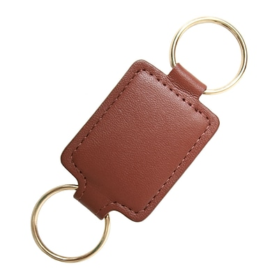Royce Leather Valet Key Fob, Tan