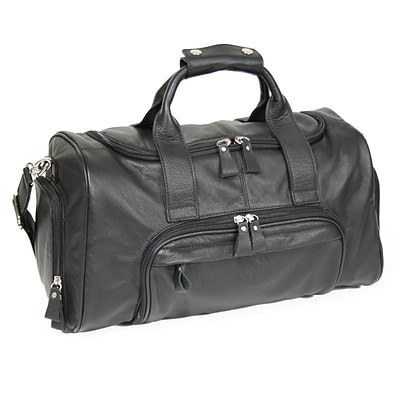Royce Leather Sports Bag, Black