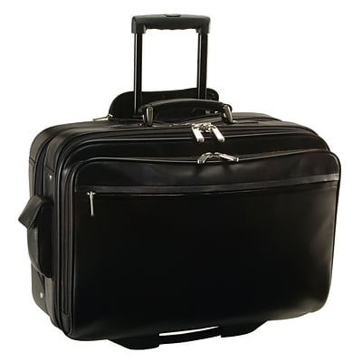 Royce Leather BriefCase, Black