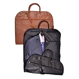 Royce Leather  Garment Bag;  Tan