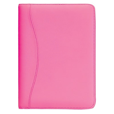 Royce Leather Writing Padfolio, Wildberry