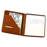 Royce Leather Writing Padfolio, Tan (744-TAN-5)