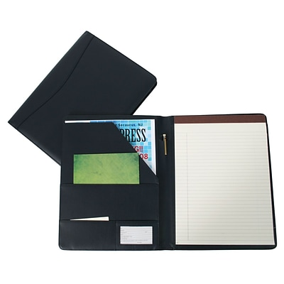 Royce Leather Padfolio;  Blue