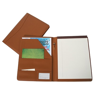 Royce Leather Padfolio;  Tan