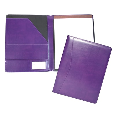 Royce Leather Aristo Padfolio, Plum