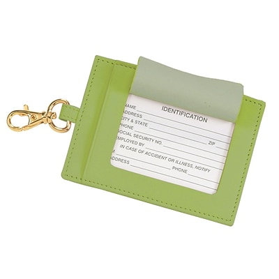 Royce Leather The Big Tag, Key Lime Green