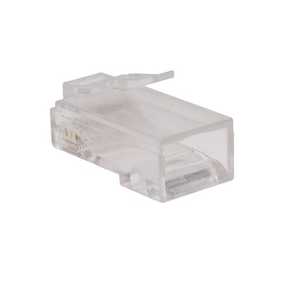 Tripp Lite Cat6 RJ45 Modular Connector Plug With Load Bar