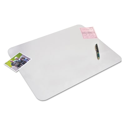 Artistic Krystal View™ 12 x 17, Desk Pads with Microban®, Non-Glare, Frosted (60740MS)