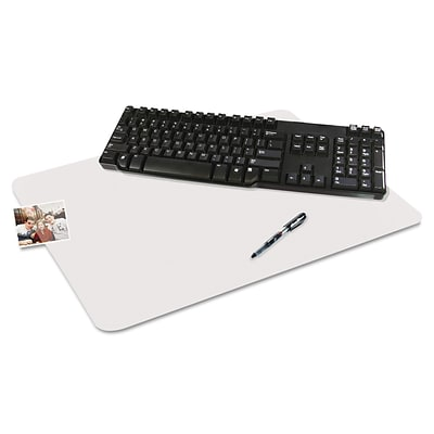 Artistic Krystal View™ 24 x 38, Desk Pad with Microban®, Glossy, Clear (60-8-0MS)