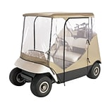 Classic Accessories® Fairway™ Travel 4 Sided Golf Cart Enclosure, Tan