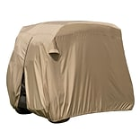 Classic Accessories® Fairway™ Two Person Golf Cart Easy On Cover, Tan