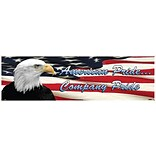 Safety Banners; American Pride Company Pride, 3Ft X 10Ft