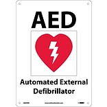 Notice Signs; Aed (With Graphic), 10X14, Rigid Plastic