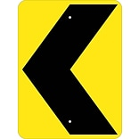 Directional Signs; (Graphic Chevron Arrow), 24X18, .080 Hip Ref Aluminum