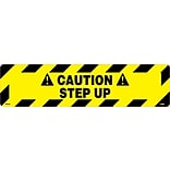 Floor Signs; Walk On, Caution Step Up, 6X24