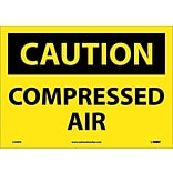 Caution Labels; Compressed Air, 10X14, Adhesive Vinyl