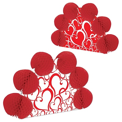 Beistle 10 Valentine Pop-Over Centerpiece; 4/Pack