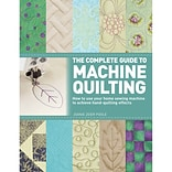 St. Martins Books, Complete Guide To Machine Quilting