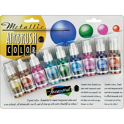 Jacquard Metallic Airbrush Color Pack