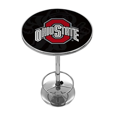 Ohio State Shadow Brutus Chrome Pub Table