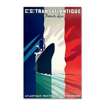 Trademark Fine Art Atlantique-Pacifique 30 x 47 Canvas Art