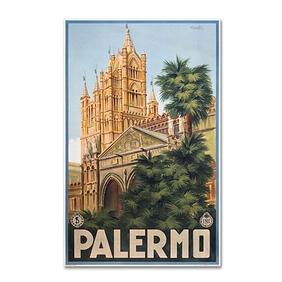 Trademark Fine Art Palermo 16 x 24 Canvas Art