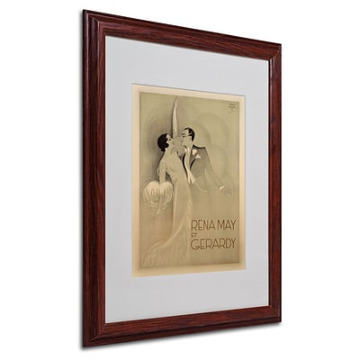 Trademark Fine Art Rena May Et Gerardy 16 x 20 Wood Frame Art
