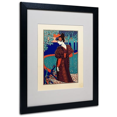 Trademark Fine Art Rhead 16 x 20 Black Frame Art