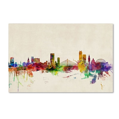 Trademark Fine Art Liege, Belgium 30 x 47 Canvas Art