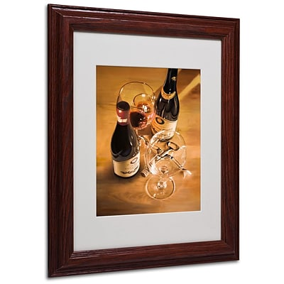 Trademark Fine Art Preparations 11 x 14 Wood Frame Art