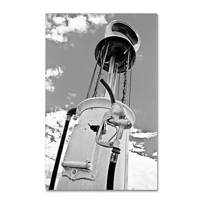 Trademark Fine Art Gas Pump 22 x 32 Canvas Art