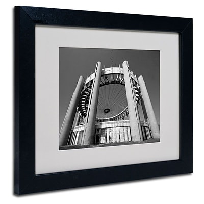 Trademark Fine Art Flushing Meadow Worlds Fair 11 x 14 Black Frame Art