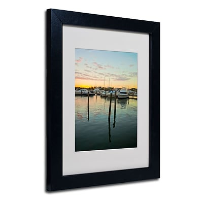 Trademark Fine Art Life In the Dominican 11 x 14 Black Frame Art