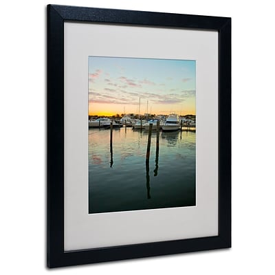 Trademark Fine Art Life In the Dominican 16 x 20 Black Frame Art