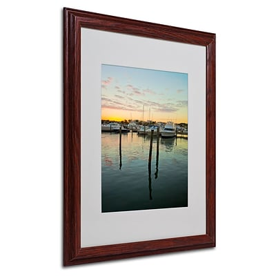 Trademark Fine Art Life In the Dominican 16 x 20 Wood Frame Art