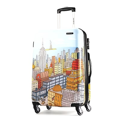 Samsonite® Cityscapes 28 Hardsided Spinner Suitcase, Blue Print