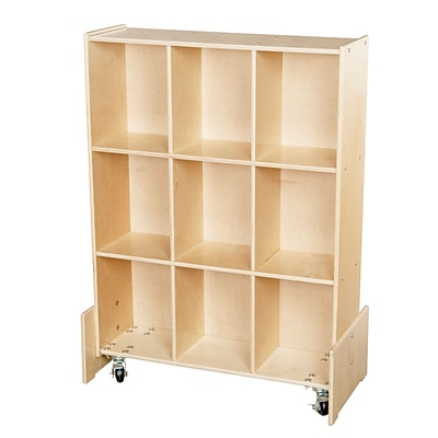 Wood Designs™ Assembled Roll and Write Storage Unit
