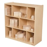 Wood Designs™ 36 x 36 Plywood Block Center and Storage Kit